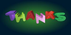 On tärkeä olla kiitollinen